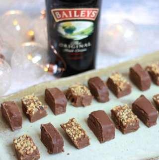 Baileys, Chocolate & Hazelnut Fudge Sponsored by Baileys