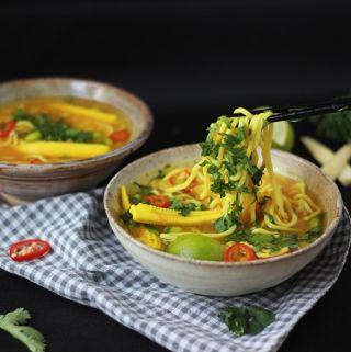 Turmeric, Lemongrass and Noodle Detox Broth