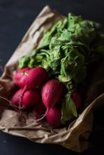 past their best radishes