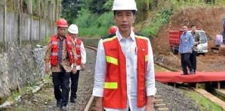 Jokowi Groundbreaking Tol Bocimi