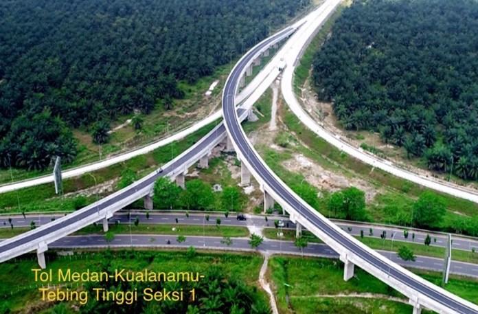 Tol Medan-Kualanamu-Tebing Tinggi Seksi 1