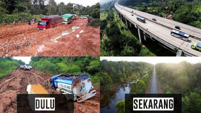 empat tahun pemerintah fokus bangun infrastruktur