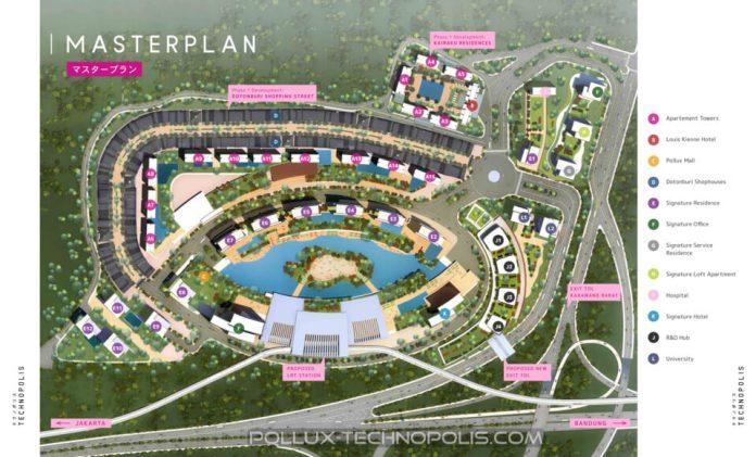 kota teknologi, Pollux-Technopolis di Karawang