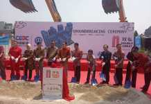 Ground Breaking Ceremonial Double Great Residence di Serpong