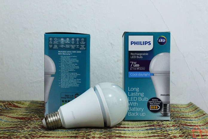 Philips Rechargeable LED Bulb