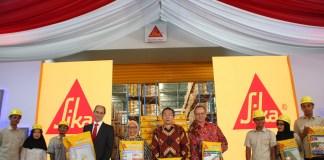 Peresmian Pabrik Sika Indonesia
