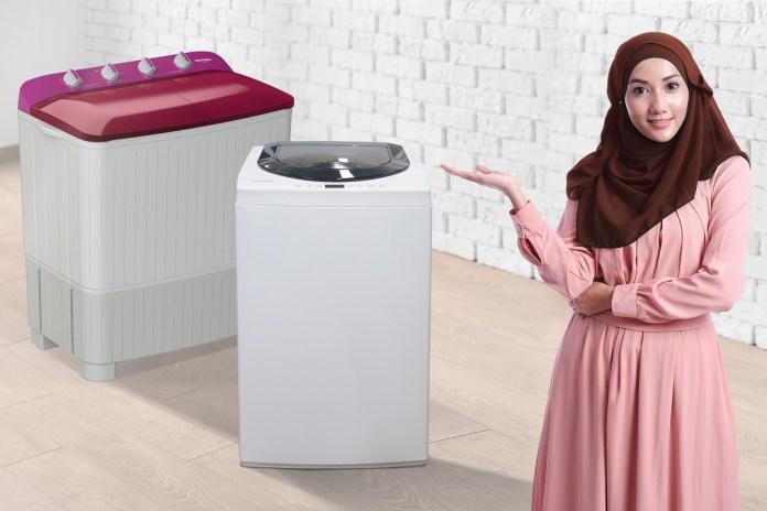 mesin cuci polytron hijab