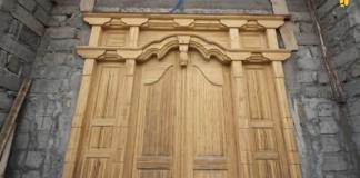 Bambu Laminasi untuk pintu