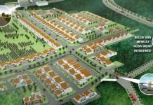 nusa indah residence - siteplan