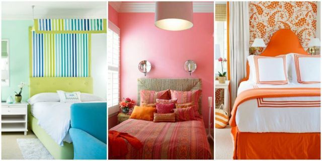 examples of Paint and Colour Schemes for bedrooms to help make a house more appealing to property buyers