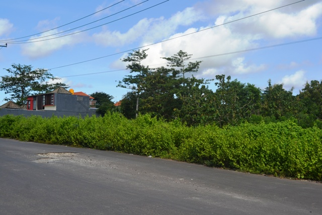 Land for sale in Jimbaran Bali Suitable for villa