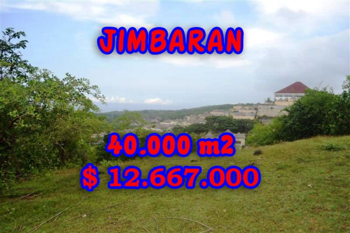 Excellent Property for sale in Bali Indonesia, land for sale in Jimbaran Bali  – TJJI030
