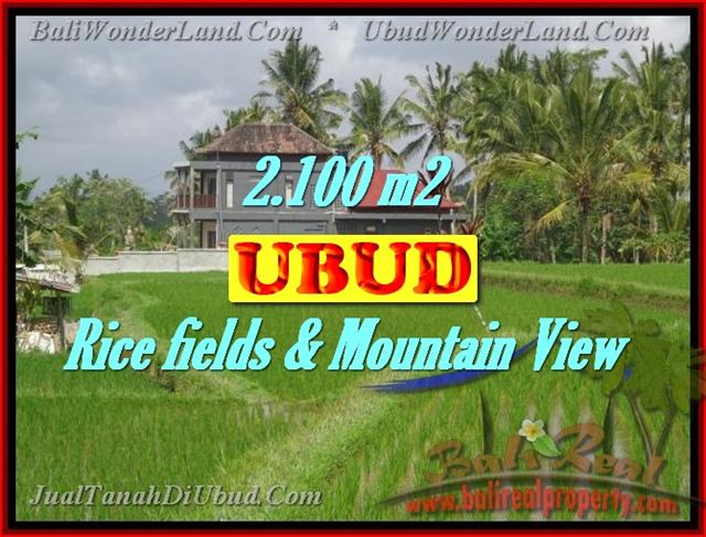 Land in Bali for sale, astounding view in Ubud Bali – TJUB423