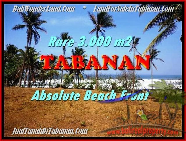 FOR SALE Beautiful LAND IN Tabanan Selemadeg BALI TJTB168