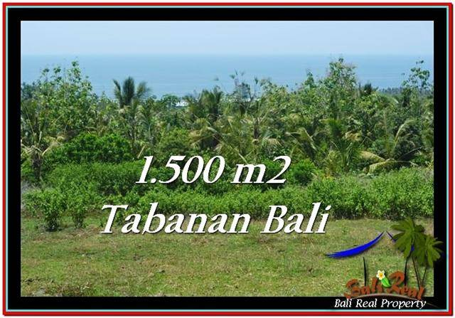 Exotic PROPERTY 1,500 m2 LAND FOR SALE IN Tabanan Selemadeg TJTB234