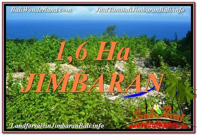 Exotic 16,000 m2 LAND FOR SALE IN Jimbaran Uluwatu  TJJI112