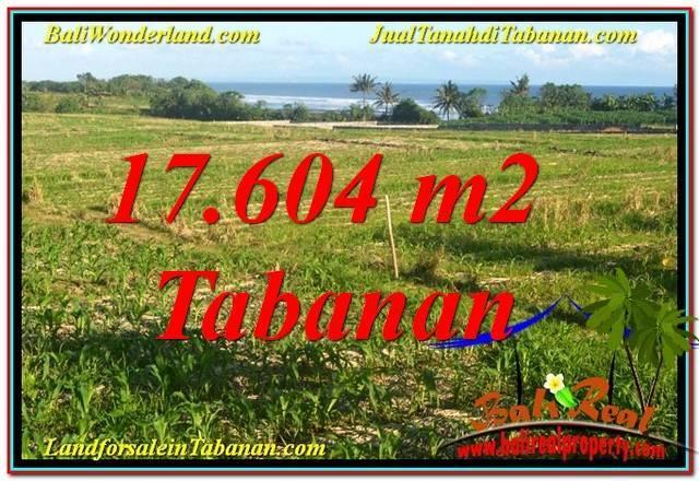 Exotic 17,604 m2 LAND IN Tabanan Kerambitan FOR SALE TJTB342