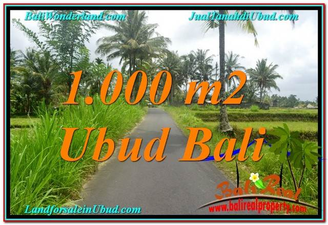 LAND IN UBUD BALI FOR SALE TJUB634