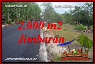 Affordable 2,000 m2 LAND FOR SALE IN JIMBARAN BALI TJJI133B