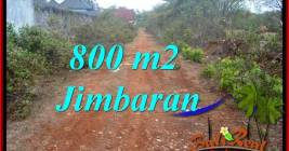 FOR SALE Magnificent PROPERTY 800 m2 LAND IN JIMBARAN UNGASAN BALI TJJI129