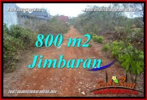 FOR SALE Magnificent PROPERTY 800 m2 LAND IN JIMBARAN UNGASAN BALI TJJI129