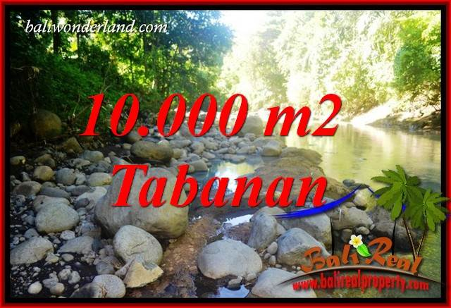 Affordable Property 10,000 m2 Land in Tabanan Selemadeg Bali for sale TJTB406
