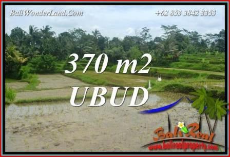 Affordable 370 m2 Land in Ubud Bali for sale TJUB702