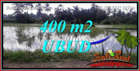 Beautiful Property 400 m2 Land for sale in Sentral Ubud Bali TJUB721