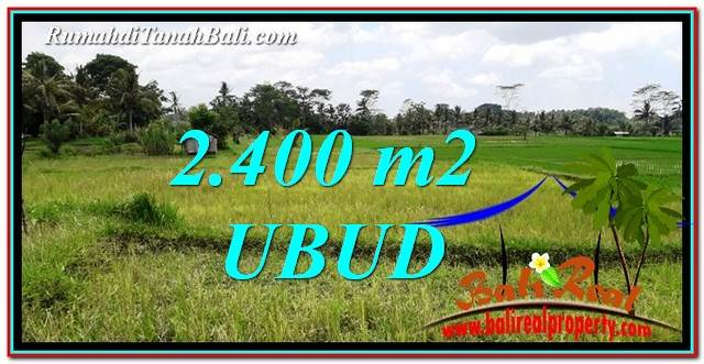 Exotic PROPERTY 2,400 m2 LAND SALE IN Ubud Tampak Siring TJUB757