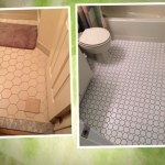 Bathroom and shower floor tiling
