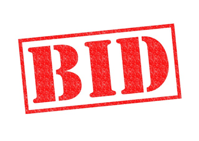 BID Red Rubber Stamp For Tips To Find Contractors For A Third Bid Blog