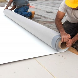 Installation of TPO Roofing Membrane