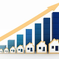 Houses With Increasing Arrows For Multifamily Rents Average Growth in 2018