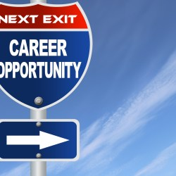 Interstate Sign Pointing To Career Opportunity For Climbing The Property Management Career Ladder Blog