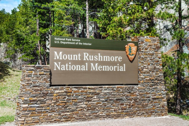 Mount Rushmore Monument Sign With Stacked Stones For Property Manager Insider