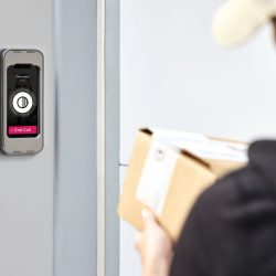 Swiftlane Video Intercom Access Control Outside Apartment Building For Property Manager Insider