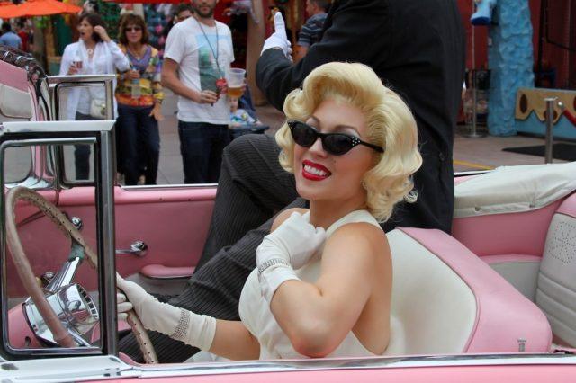 Marilyn Monroe Impersonator For A Senior Housing Apartment Resident Event