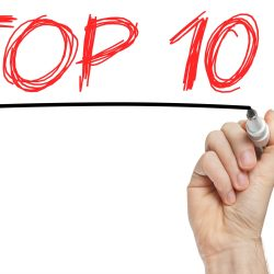 Top 10 whiteboard letters for 10 largest Retail Shopping Center Management Companies