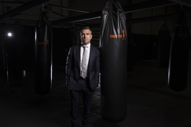 Meet Marcus Chiminello, the prestige agent preparing for his first boxing match