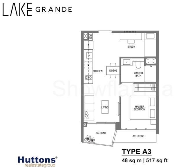Lake Grande floor plan