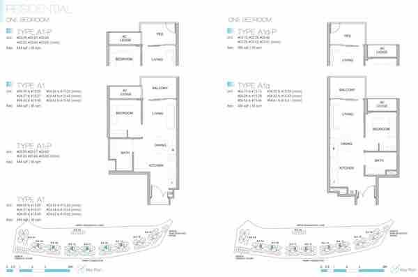 Kingsford Waterbay Floor Plan