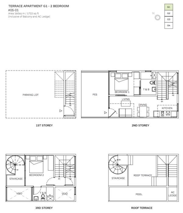 Robin Suites Floor Plan