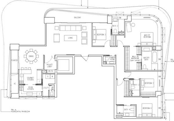 New Futura Floor Plan Showflat Hotline 61001778