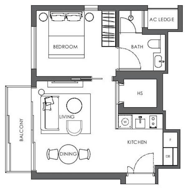 10 Evelyn Floor Plan