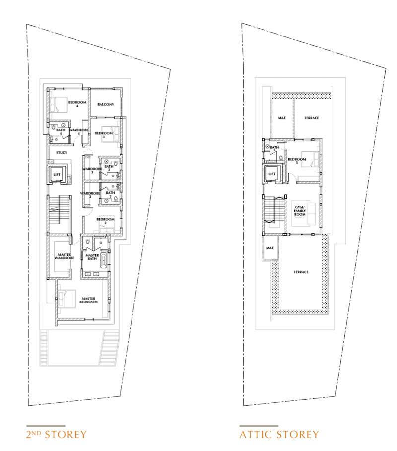 One Tree Hill Collection Floor Plan