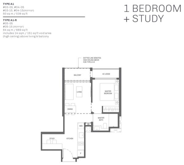 The Essence Condo Floor Plan