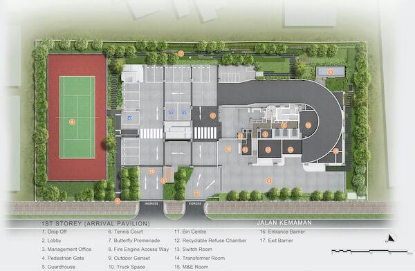 Verticus Condo Site Plan