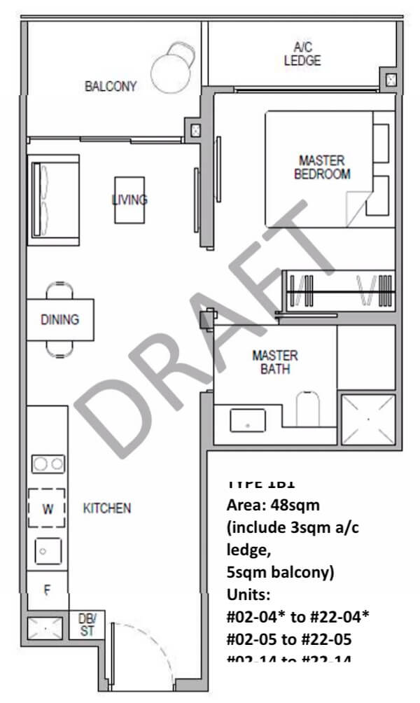 Kopar at Newton Floor Plan
