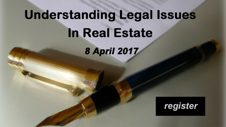 Understanding legal issues in real estate