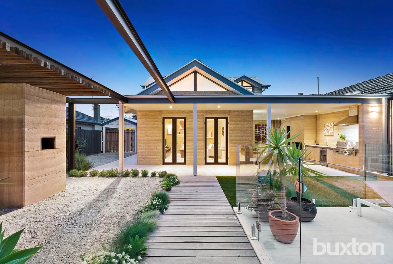 Property Styling Bentleigh East Rammed Earth